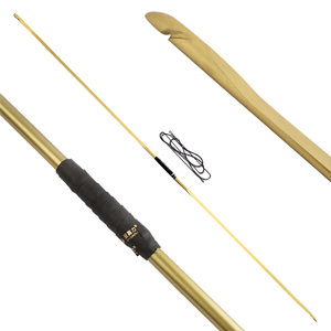 Archery Traditional Hunting Longbow 25-70LBS One-Piece Recurve Bow Straight Bow English Longbow