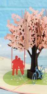 Valentine Love Pop up Card