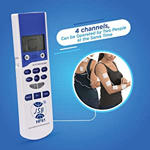 4 channel electrode massager