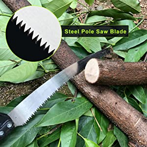 steel pole saw blade