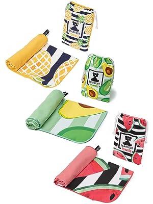 strand beach towel handtuch mikrofaser xxl groß badetuch strandtuch sommer baden sonne urlaub klein