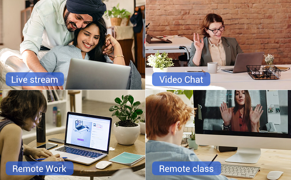 Multi-purpose use 720P video web cam