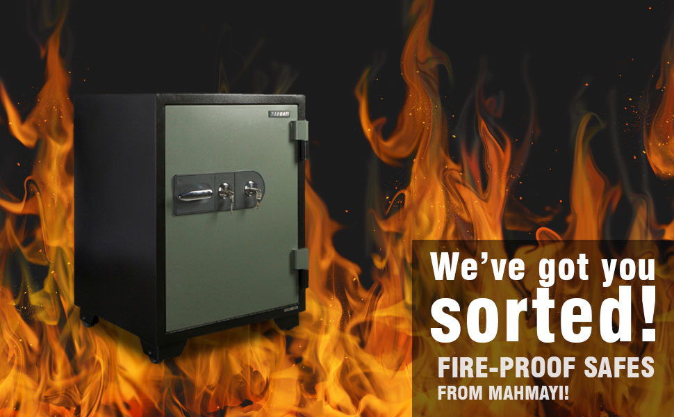 Victory Fire Safe With Dual Key Lock