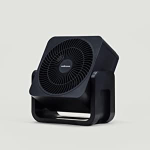 Mellerware Ventilador Sobremesa Air Force 30 White. Color Negro ...