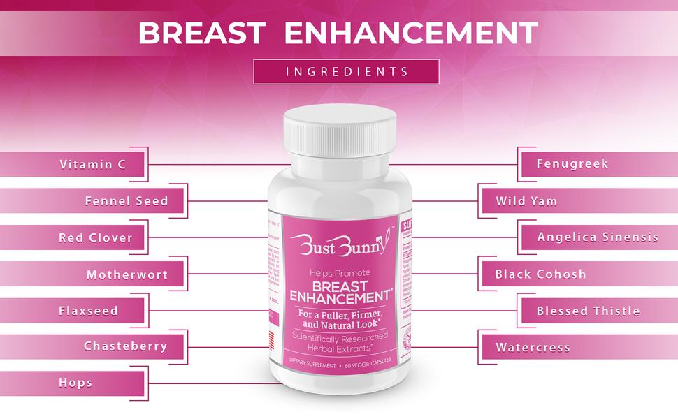 Amazon Com Breast Enhancement Pills Vegan Friendly 3 Month