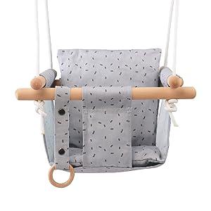 happypie baby canvas swing