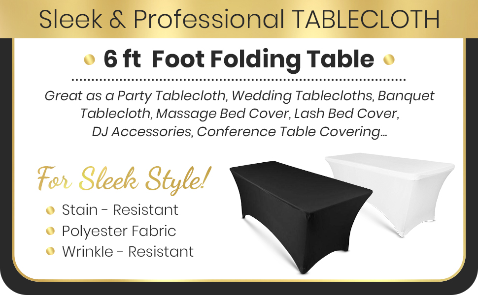 spandex table covers 6 ft table clothes fitted tablecloth rectangular tablecloth table linens