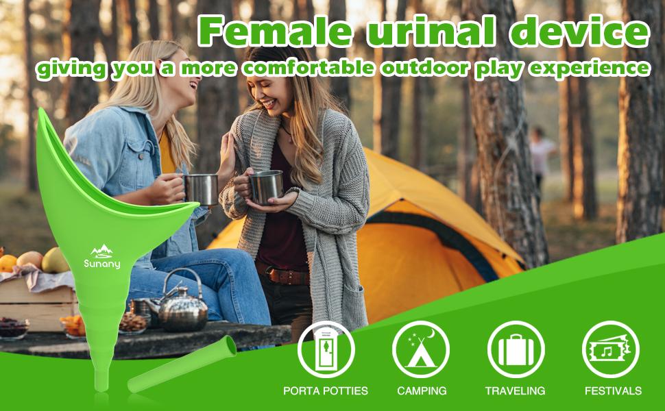 women urinal