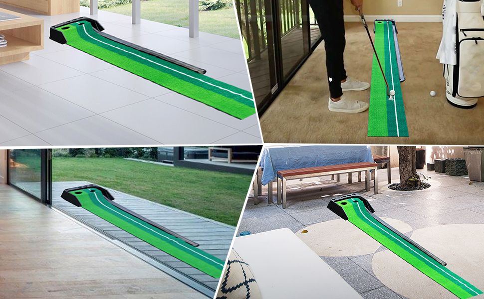 putting green putting green with ball return indoor putting green putting mats indoor outdoor