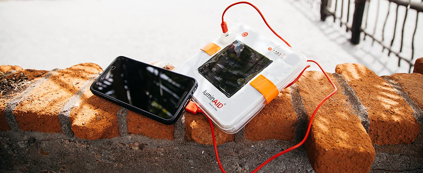 2-in-1 Lighting and Phone Charger
