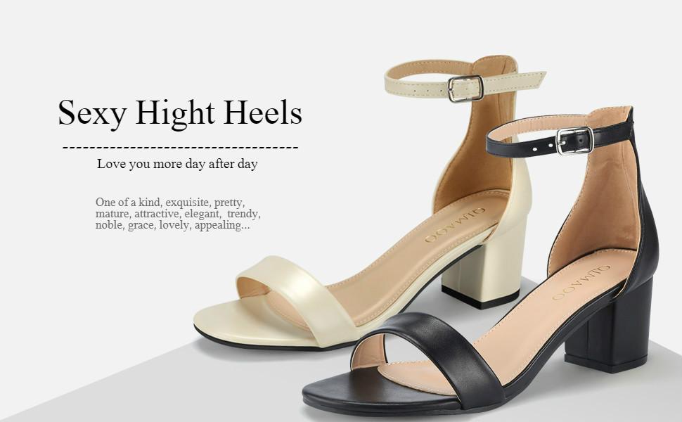 Damen Nude Blockabsatz Sandaletten Sommer Und Knöchelriemen Sandalen Absatz Weinrot Heels Silber Schuhe High Mit Qimaoo Riemchensandalen schwarz 6cm 8k0wOnPX