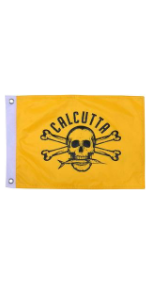calcutta fishing flag