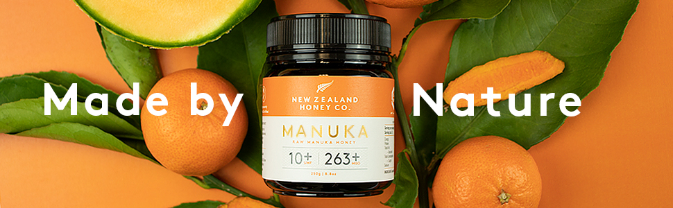 Manuka Honey with Fruit and Vegetables Made by Nature