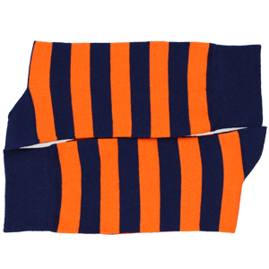 Men's striped socks in colors and patterns for all occasions. School colors, team colors, holidays.