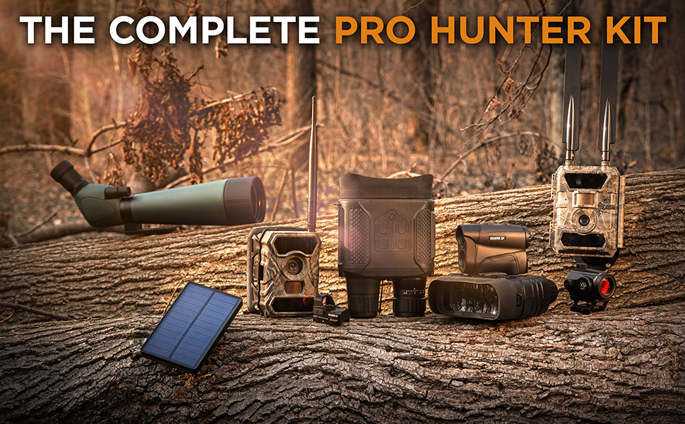 wifi 4g cellular trail camera game hunting