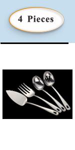 silver serving set