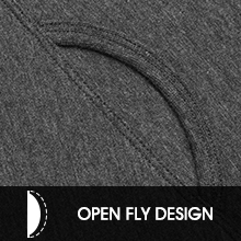 fly open thermal pants