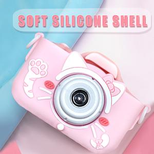 Kids Camera for Girls Kids Selfie Camera HD Digital Video Camera for Children, Dual Camera Camcorder