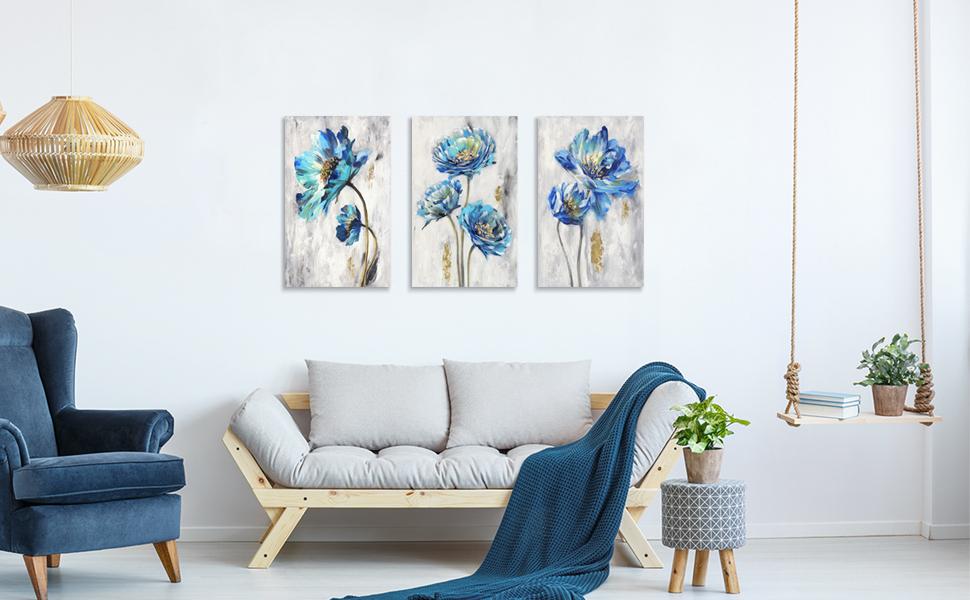 canvas prints floral