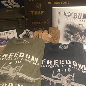 Air Force T-Shirt, Coyote Brown Tees