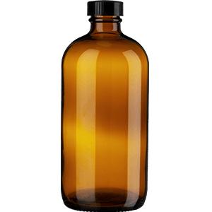 32oz Amber Glass Glass Growler Beverages brewing home garage solutions safety dark uv kombucha brew