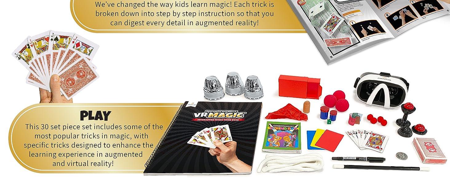 vr magic kit virtual reality professor maxwells abacus brands magic castle