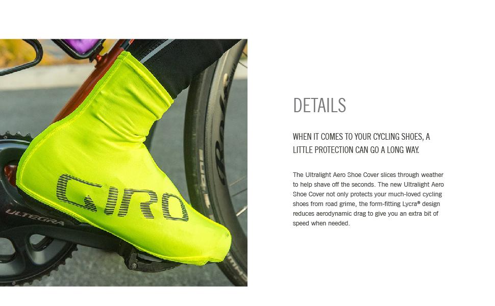 Giro Ultralight Aero Black Shoe Covers