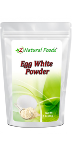 dehydrated egg white powder