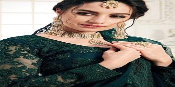 embroidered lehenga choli for women