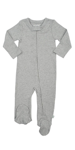 finn and emma, footie, organic baby clothes, baby gifts, one piece, pajama, sleeper