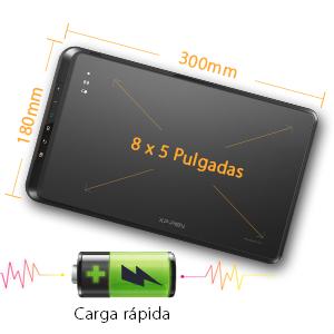 digitalizadora inalambrica  XP-Pen Star 05 V2 Inalámbrica Tableta Grafica Digitalizadora 8×5 Pulgadas 8192 Niveles Lápiz Pasivo con Teclas de Acceso Rápido b6cf4075 e14c 455c ae7b d1d46e72e883