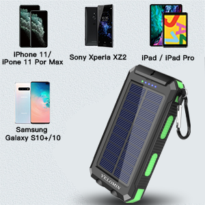 solar powered phone charger has the Highly Compatibility