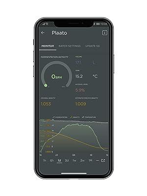 Plaato Airlock App Fermentation Monitor Wi-Fi