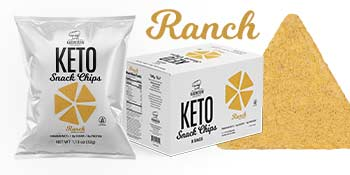 genius gourmet keto snack chips protein low carb tortilla