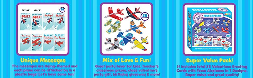 JOYIN 28 Pack Valentines Day Gifts Cards, Valentine's Greeting Cards