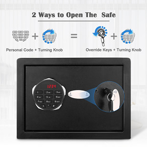 electronic safe  BATHWA Digital Electronic Safe Security Box, Steel Deposit Safe for Home & Office, Cabinet Safe with Keypad for Jewellery Money Valuables, Wall-Anchoring Design, 0.7 Cubic Feet Capacity b6d6367c b8f1 461d adb4 0f84b0841dfe