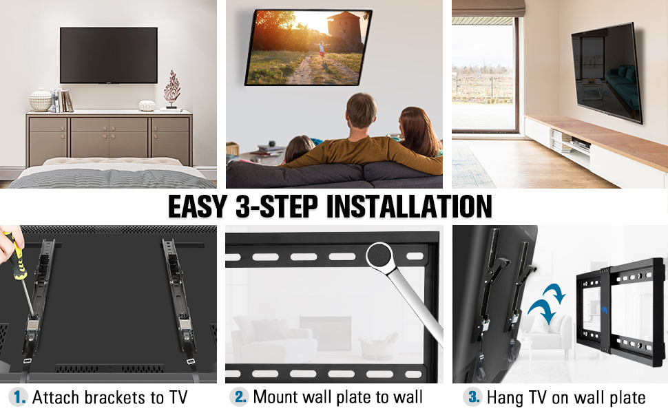 easy installation and enjoy comfortable viewing experience everywhere