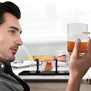 Whiskey Decanter in your hands