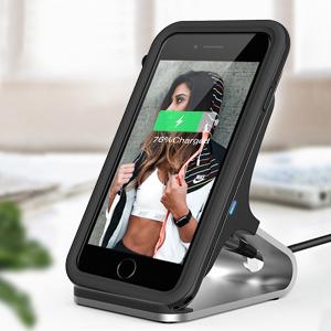 ShellBox funda iphone 8,funda iphone 7,funda iphone se 2020 IP68 impermeable con cuerda protector de pantalla integrado de silicona cuerpo completo ...