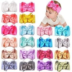 Animal Print Large Print Brown with Pink Grosgrain Ribbon Nylon Headband HairBow Teens Tweens Baby Adults