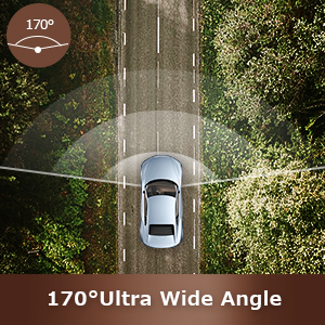 170° Wide-Angle