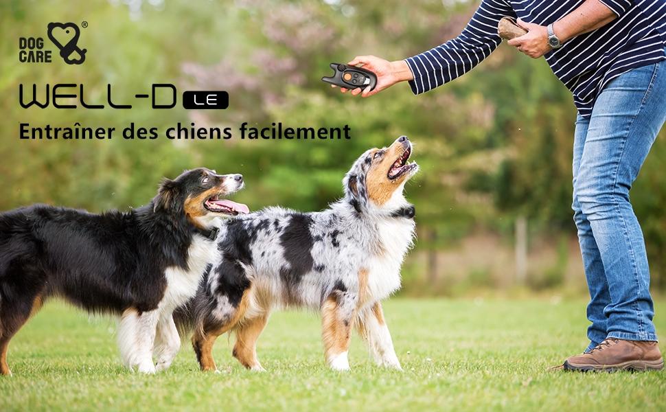 DOGCARE collier de dressage pour chien WELL-D