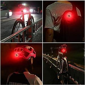 Multifunctional Bike Tail Light