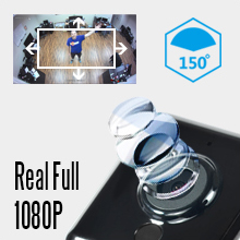 Spy Camera Wireless Hidden Mini WiFi Full HD 1080P Portable Small Nanny Cam Wide Angle Camera