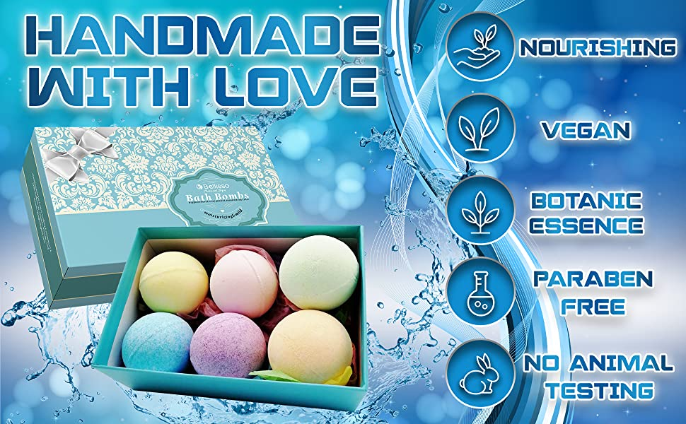 ball natural fizzers gift bathbomb she is birthday