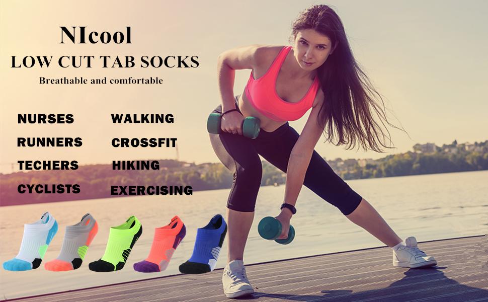 NIcool low cut socks