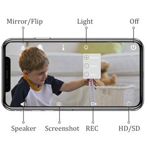 Camhi app remote view camera