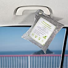 Air purifying bags  for car