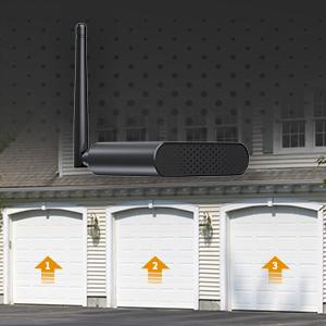 Smart Garage Door Opener Refoss Smart Wi Fi Garage Door Opener Remote For 3 Garage Doors App Control Compatible With Alexa Google Assistant Auto Close No Hub Needed Upgrade Version