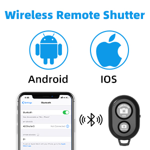 Wireless and Selfie Remote